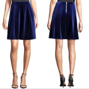 🆕Gorgeous Blue Velvet Skirt